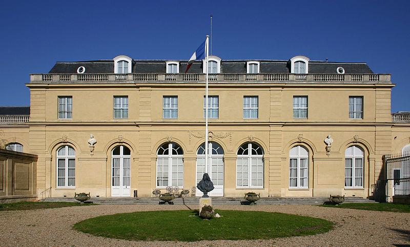 Photo du Monument Historique Château du Val situé à Saint-Germain-en-Laye