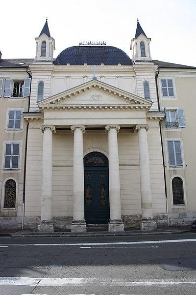 Photo du Monument Historique Couvent des Dames de Saint-Thomas situé à Saint-Germain-en-Laye
