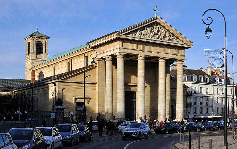 Photo du Monument Historique Eglise Saint-Louis situé à Saint-Germain-en-Laye