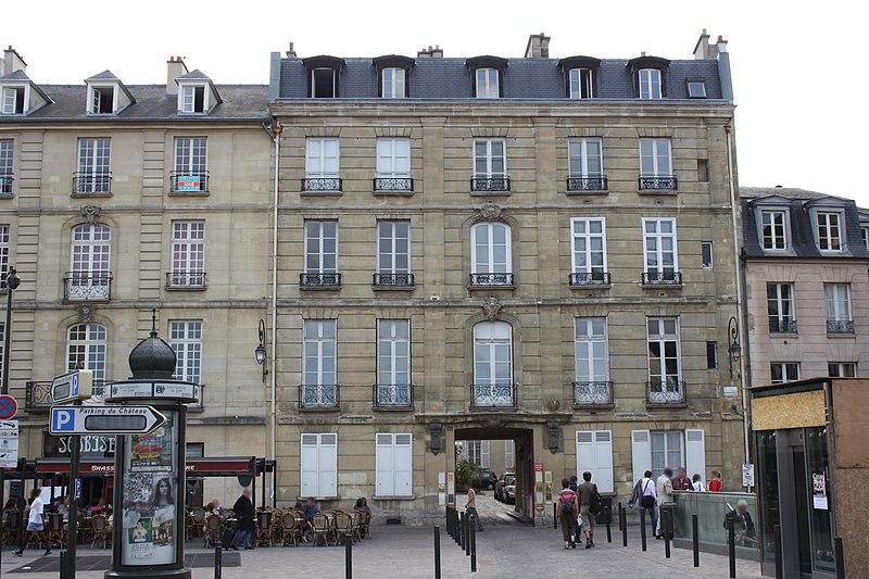 Photo du Monument Historique Hôtel de Conti situé à Saint-Germain-en-Laye