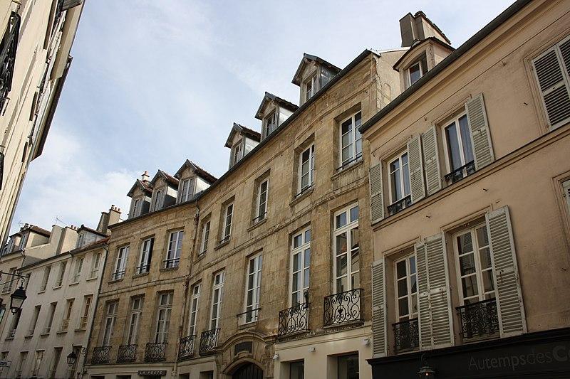 Photo du Monument Historique Hôtel de La Feuillade situé à Saint-Germain-en-Laye