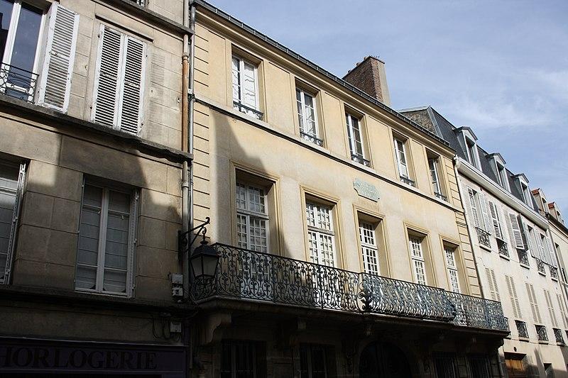 Photo du Monument Historique Hôtel de Madame de Maintenon situé à Saint-Germain-en-Laye