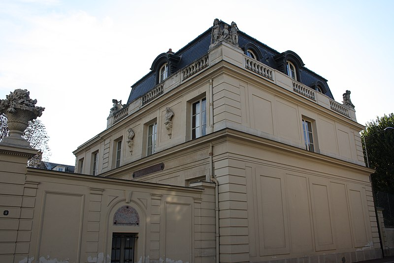 Photo du Monument Historique Hôtel de Noailles situé à Saint-Germain-en-Laye