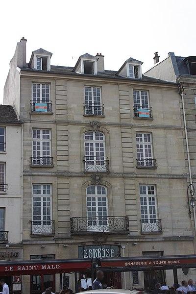 Photo du Monument Historique Hôtel de Soubise situé à Saint-Germain-en-Laye