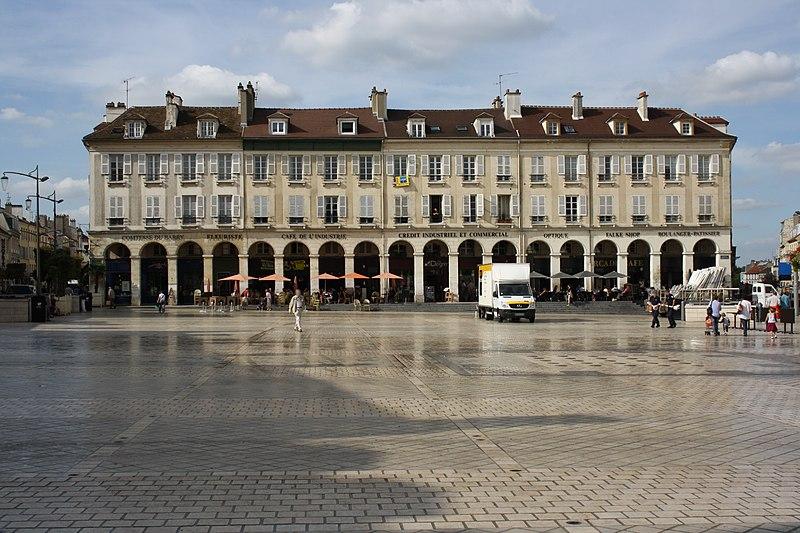 Photo du Monument Historique Immeubles situé à Saint-Germain-en-Laye