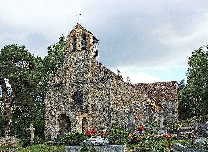Photo du Monument Historique Eglise et cimetière situé à Saint-Lambert