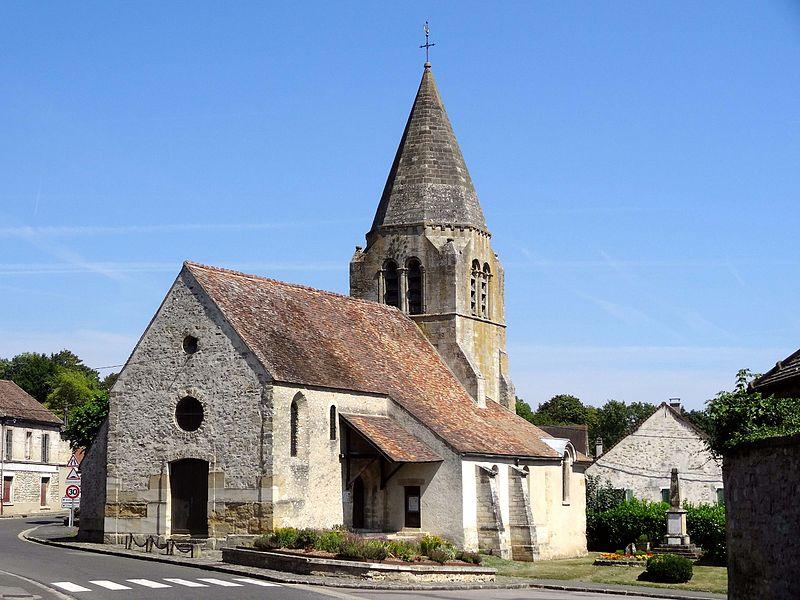 Photo du Monument Historique Eglise Saint-Nicolas situé à Tessancourt-sur-Aubette