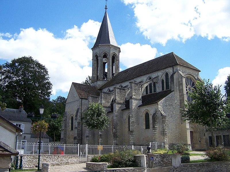 Photo du Monument Historique Eglise Saint-Martin situé à Thiverval-Grignon