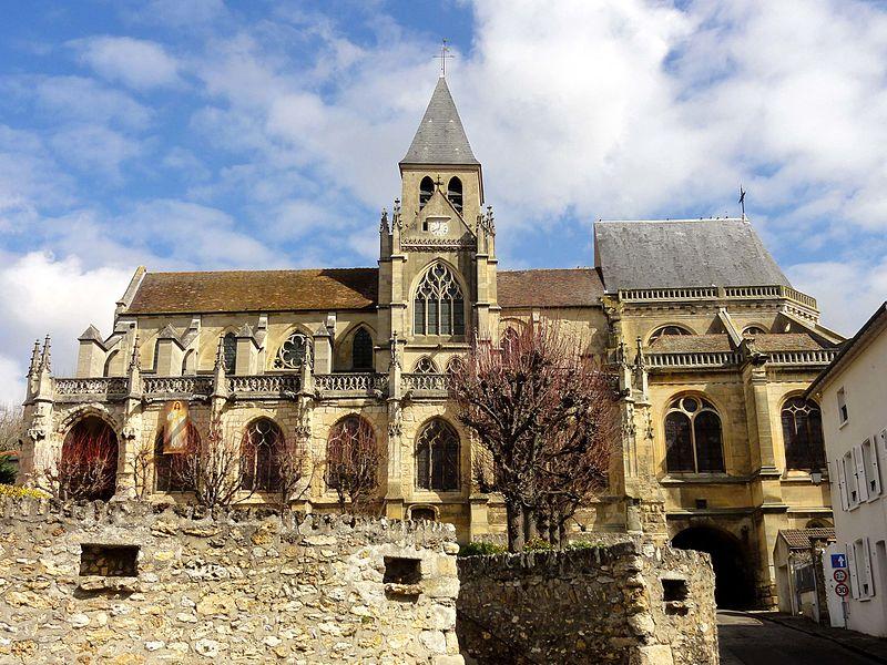 Photo du Monument Historique Eglise Saint-Martin situé à Triel-sur-Seine