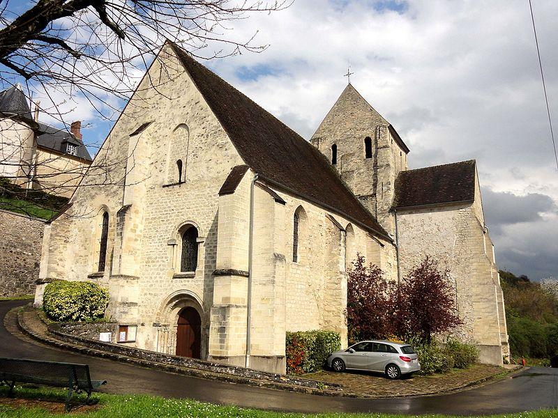 Photo du Monument Historique Eglise Saint-Pierre-aux-Liens situé à Vaux-sur-Seine
