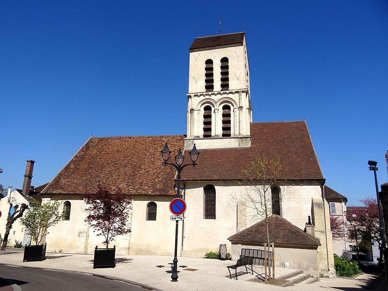 Photo du Monument Historique Eglise Saint-Martin situé à Verneuil-sur-Seine