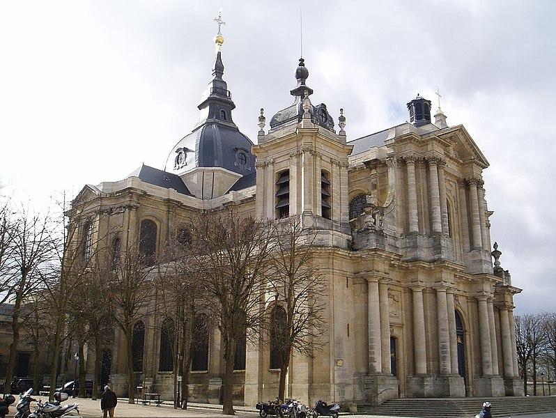Photo du Monument Historique Cathédrale Saint-Louis situé à Versailles