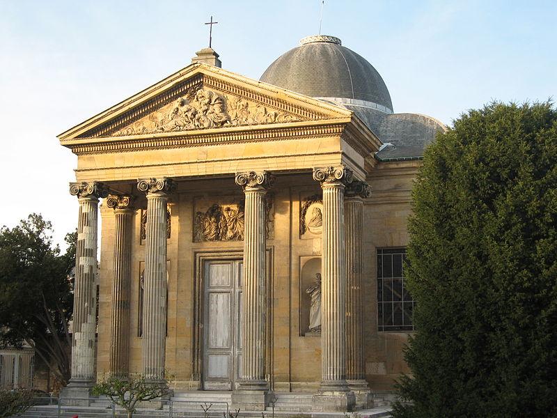 Photo du Monument Historique Ancien couvent de la Reine, actuellement lycée Hoche situé à Versailles