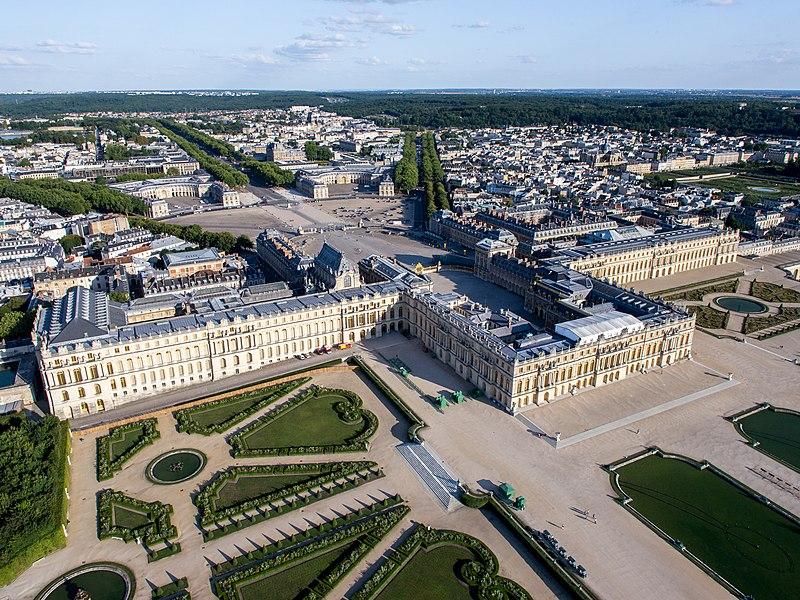 Photo du Monument Historique Domaine national de Versailles situé à Versailles