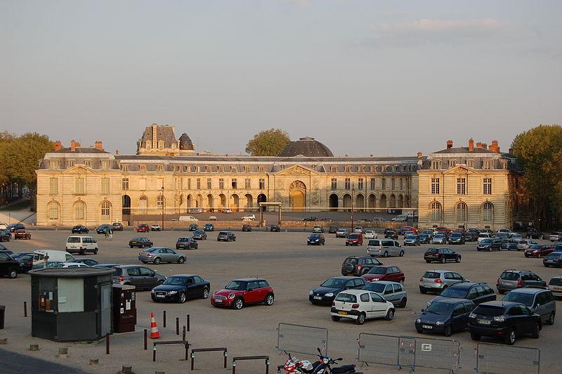Photo du Monument Historique Domaine national : Petites Ecuries situé à Versailles