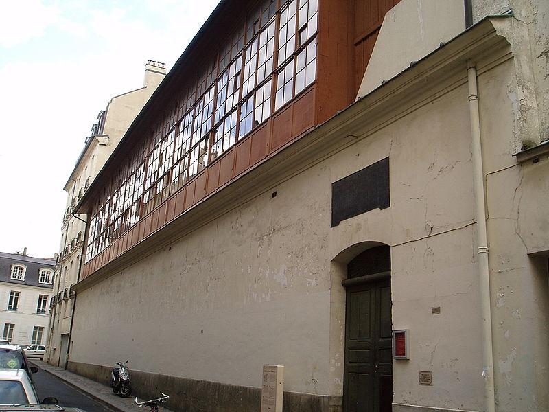 Photo du Monument Historique Domaine national : Salle du Jeu de Paume situé à Versailles