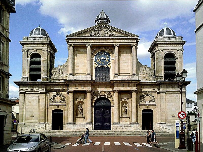 Photo du Monument Historique Eglise Notre-Dame situé à Versailles