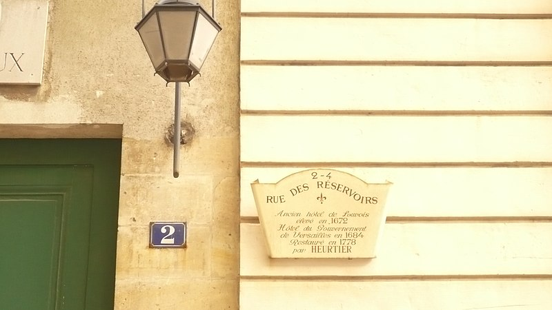 Photo du Monument Historique Hôtel du Gouvernement, dit Hôtel R, actuellement Chefferie du Génie situé à Versailles