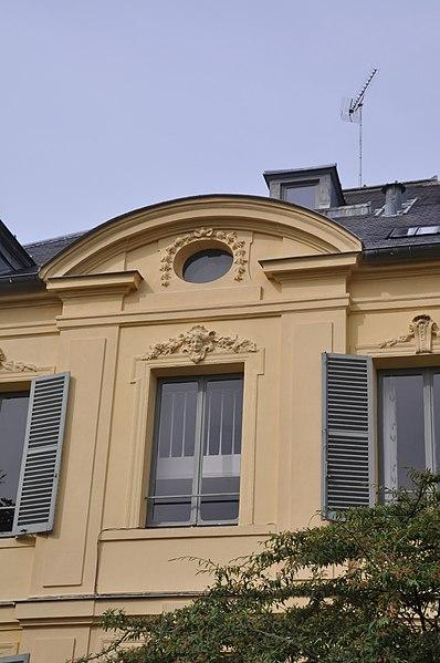 Photo du Monument Historique Hôtel situé à Versailles