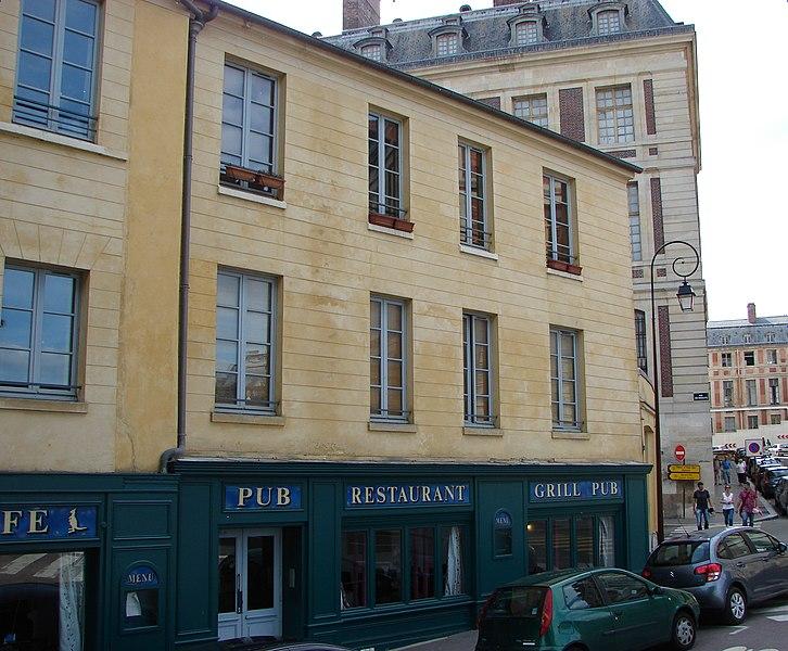 Photo du Monument Historique Immeuble situé à Versailles