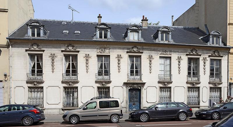 Photo du Monument Historique Maison situé à Versailles