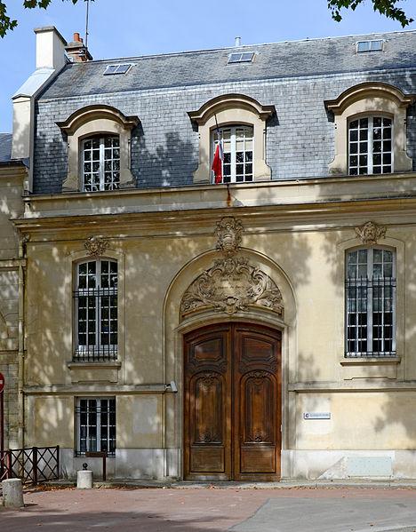 Photo du Monument Historique Pavillon du Barry situé à Versailles