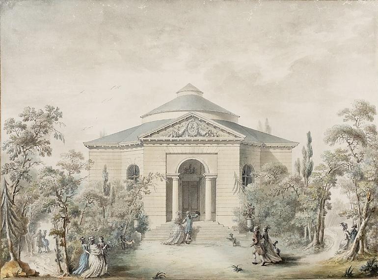 Photo du Monument Historique Pavillon de musique de Madame situé à Versailles