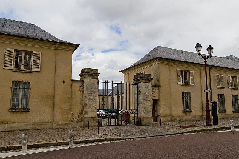 Photo du Monument Historique Quartier d'Anjou situé à Versailles