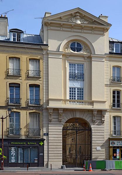 Photo du Monument Historique Quartier de Croy situé à Versailles