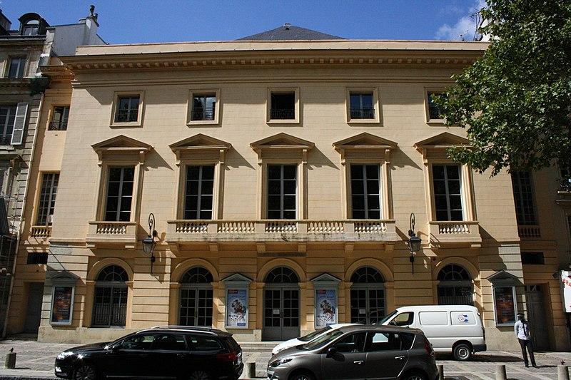 Photo du Monument Historique Théâtre municipal ou Théâtre Montansier situé à Versailles