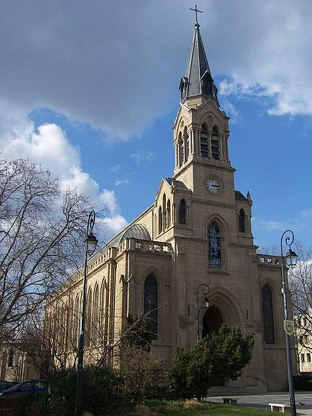 Photo du Monument Historique Eglise Sainte-Marguerite situé à Le Vésinet