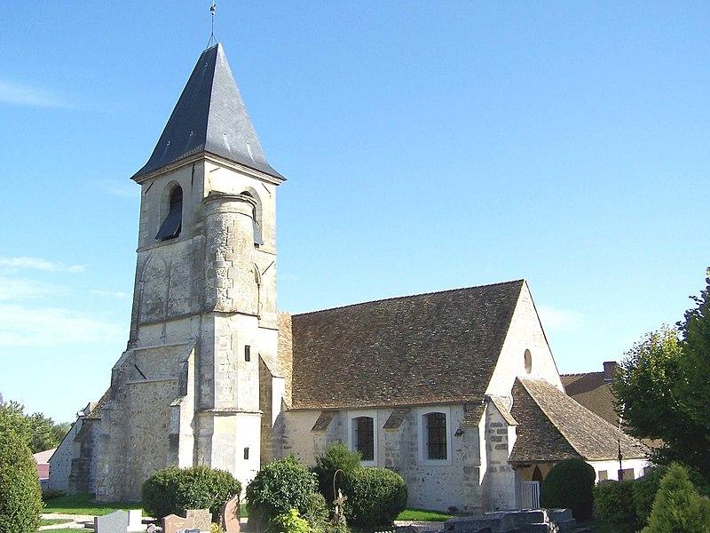 Photo du Monument Historique Eglise Saint-Martin situé à Vicq