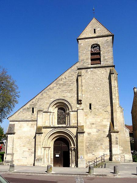 Photo du Monument Historique Eglise Saint-Nicolas situé à Villennes-sur-Seine
