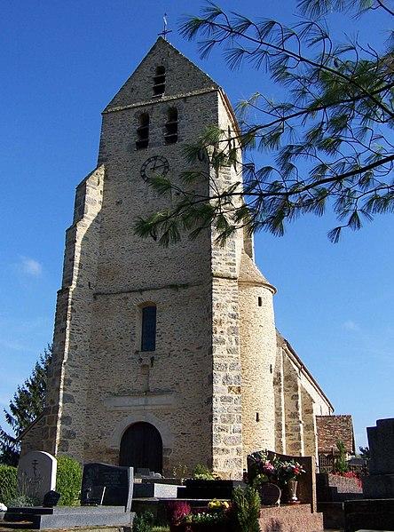 Photo du Monument Historique Eglise Saint-Martin situé à Grosrouvre