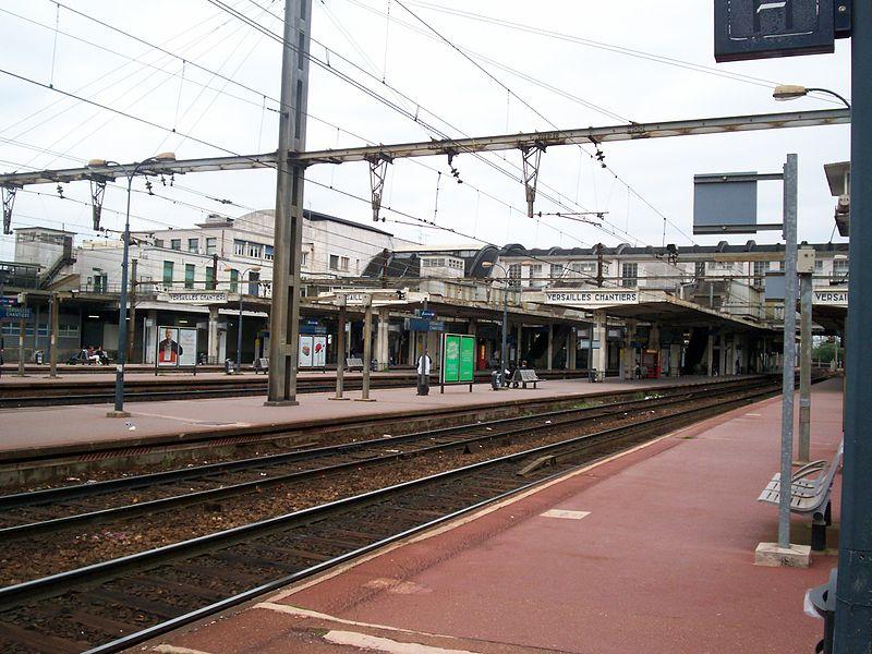 Photo du Monument Historique Gare des Chantiers situé à Versailles