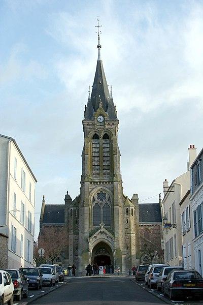 Photo du Monument Historique Eglise Saint-Lubin et Saint-Jean-Baptiste situé à Rambouillet