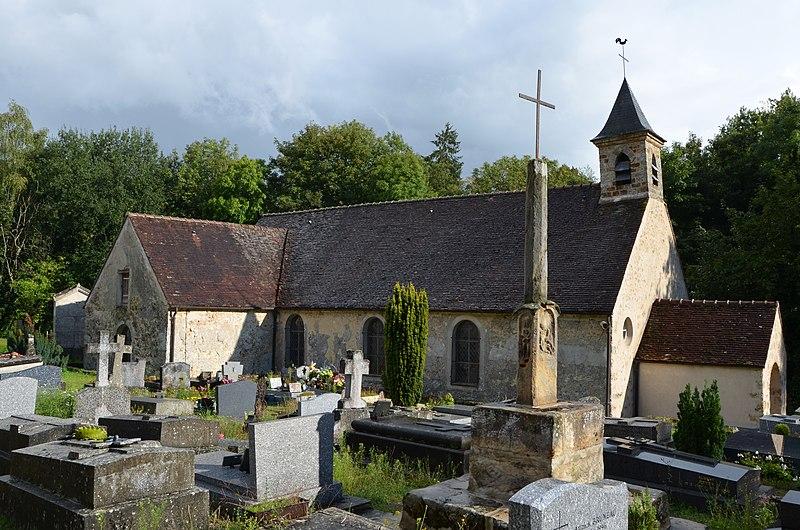 Photo du Monument Historique Chapelle Saint-Gilles situé à Saint-Forget