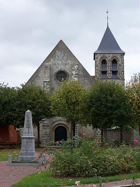Photo du Monument Historique Eglise Saint-Martin situé à Bazoches-sur-Guyonne