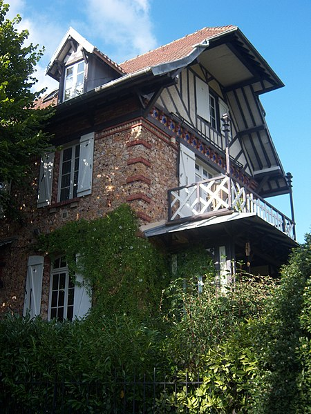 Photo du Monument Historique Demeure dite Rêve Cottage situé à Andrésy