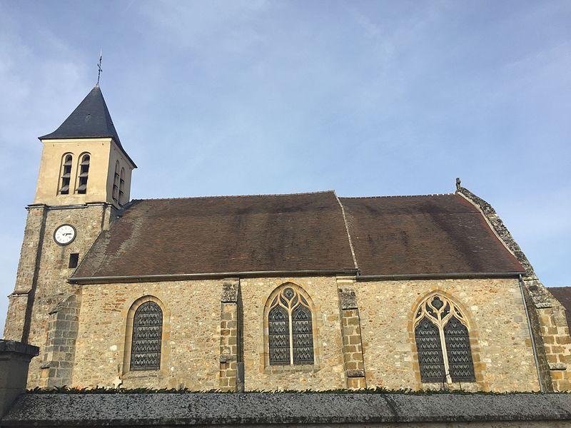 Photo du Monument Historique Eglise Saint-Germain-de-Paris situé à Magny-les-Hameaux