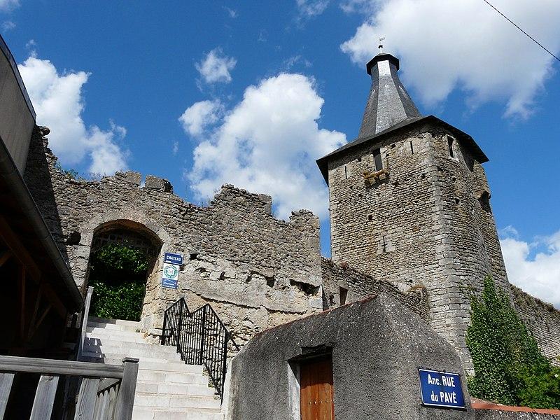 Photo du Monument Historique Château d'Airvault situé à Airvault