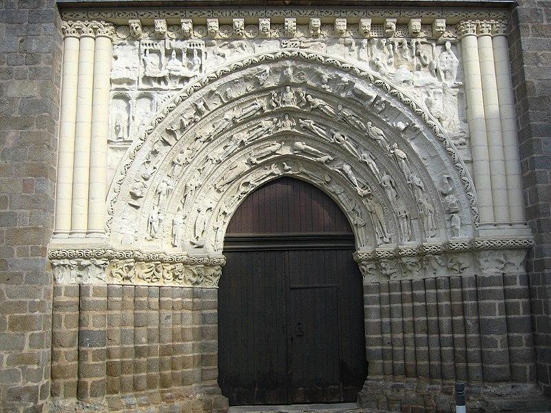 Photo du Monument Historique Eglise Saint-Gilles situé à Argenton-Château