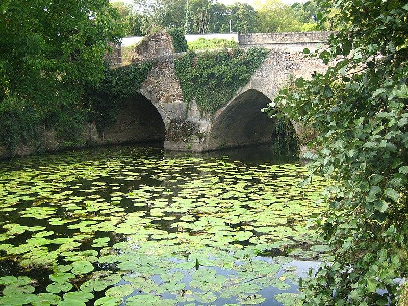Photo du Monument Historique Ancien pont Cadoret situé à Argenton-Château