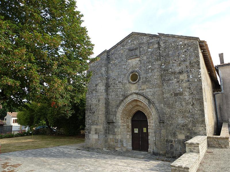 Photo du Monument Historique Ancienne église, Temple protestant situé à Beaussais