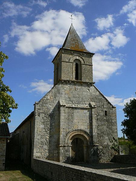 Photo du Monument Historique Eglise situé à Bougon
