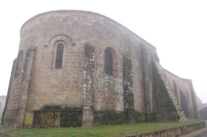 Photo du Monument Historique Eglise de Saint-Sauveur-de-Givre-en-Mai situé à Bressuire