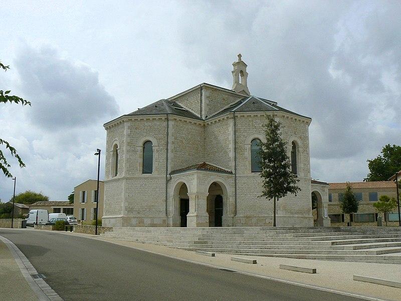 Photo du Monument Historique Temple protestant situé à Chauray