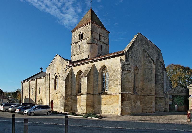 Photo du Monument Historique Eglise Saint-Chartier de Javarzay situé à Chef-Boutonne