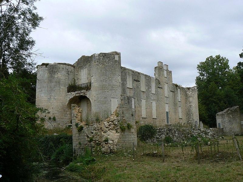 Photo du Monument Historique Ruines du château de Mursay situé à Echiré