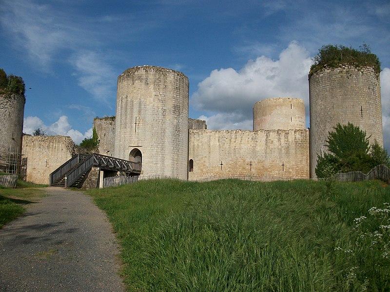 Photo du Monument Historique Château du Coudray-Salbart situé à Echiré